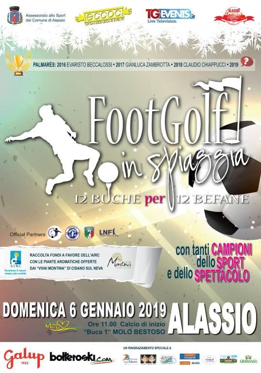Footgolf in Spiaggia Alassio 2019