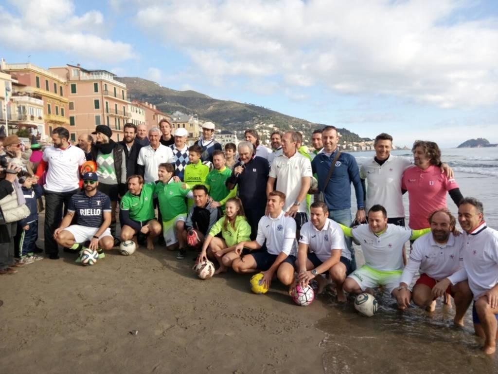 Footgolf in Spiaggia Alassio 2018