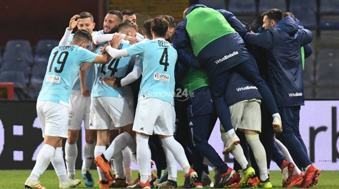 Genoa Vs Entella quarto turno Coppa Italia