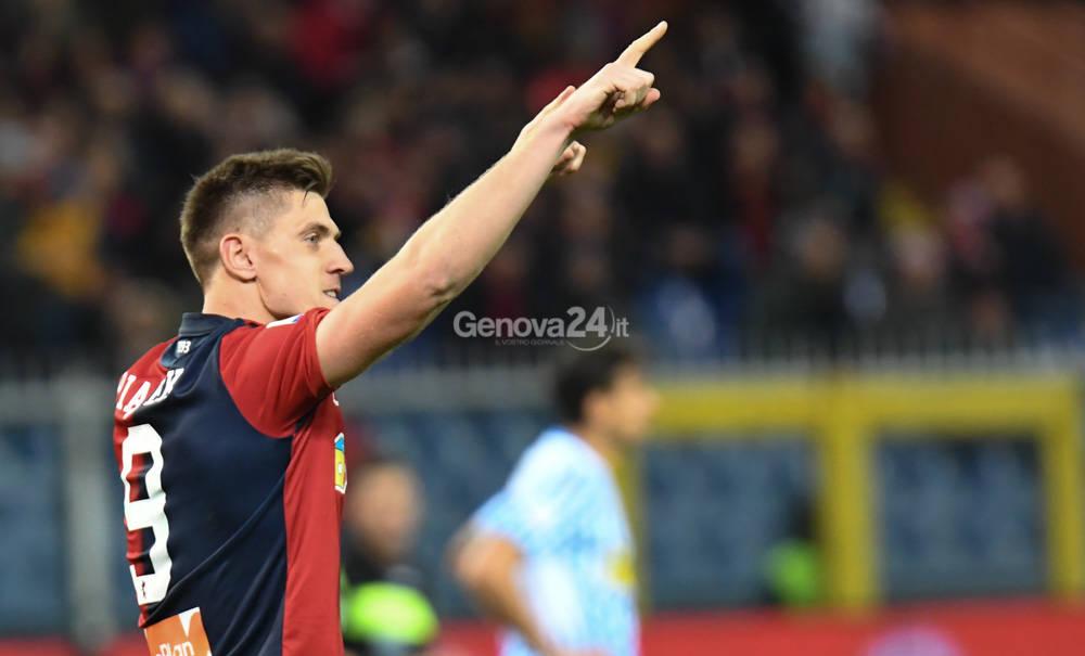 Genoa Vs Spal Serie A