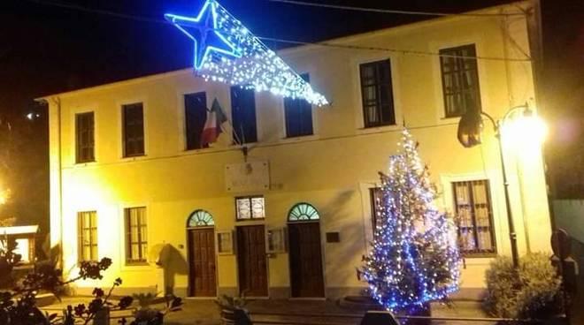 Comune Giustenice luci Natale