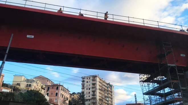 guido rossa lotto 10 sestri genova aeropoto rampa