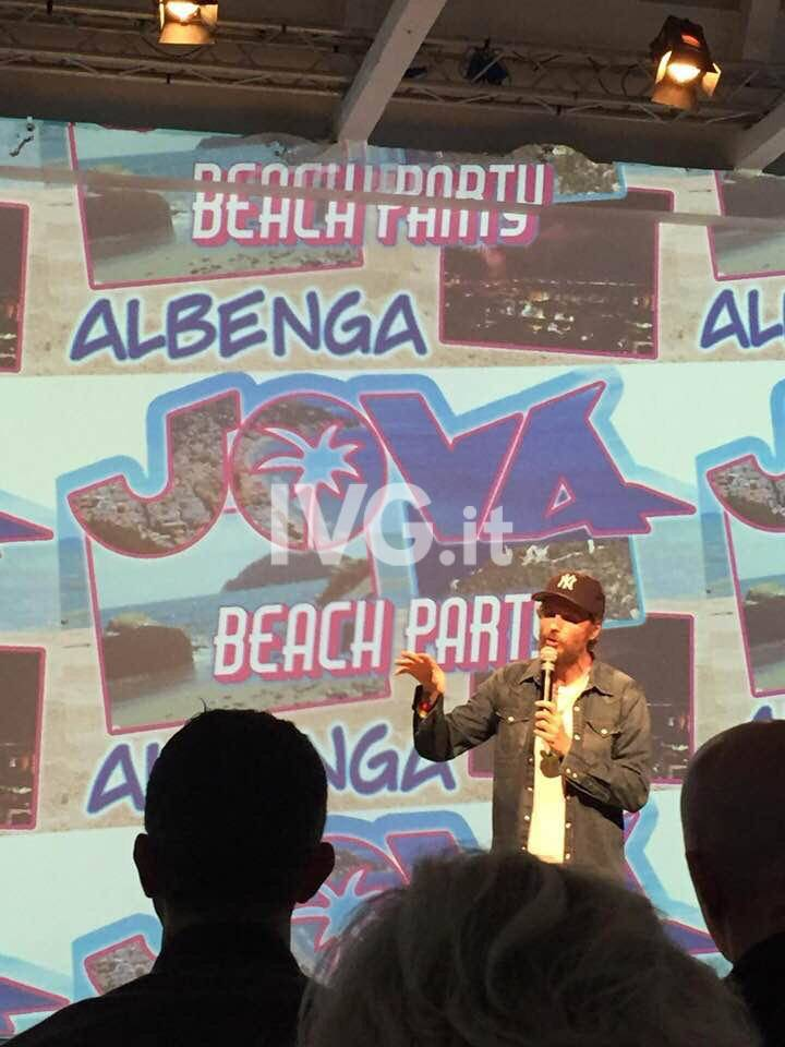 Il Jova Beach Party fa tappa ad Albenga