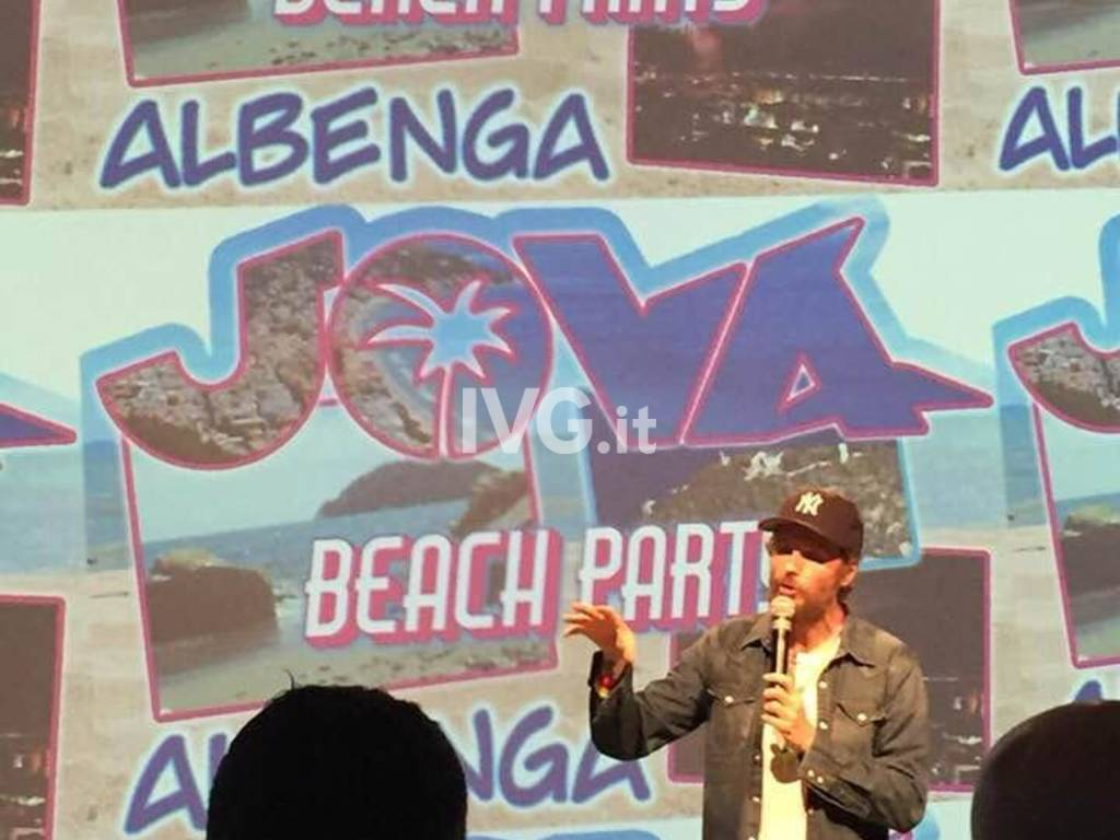 Il Jova Beach Party fa tappa ad Albenga