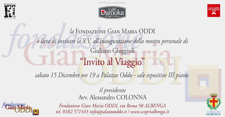 """""""Invito al viaggio"""" mostra d'arte Giuliano Giuggioli Albenga"""