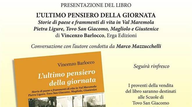 """""""L'ultimo pensiero della giornata"""" libro Vincenzo Barlocco"""