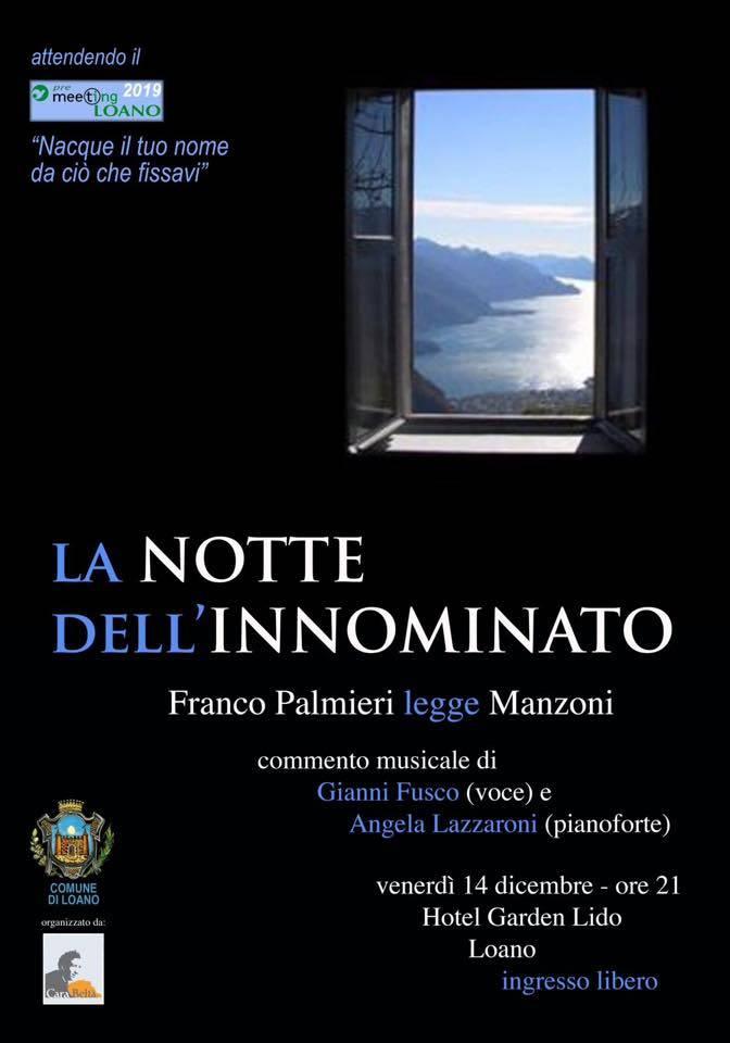 """""""La notte dell'Innominato"""" PreMeeting Loano 2018"""