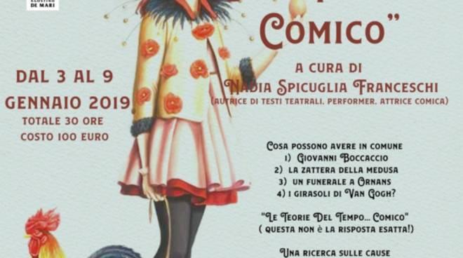 """""""Le teorie del tempo... comico"""" - laboratorio teatro Barone Rampante"""