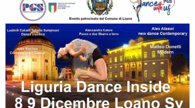 Liguria Dance Inside stage danza Loano 2018
