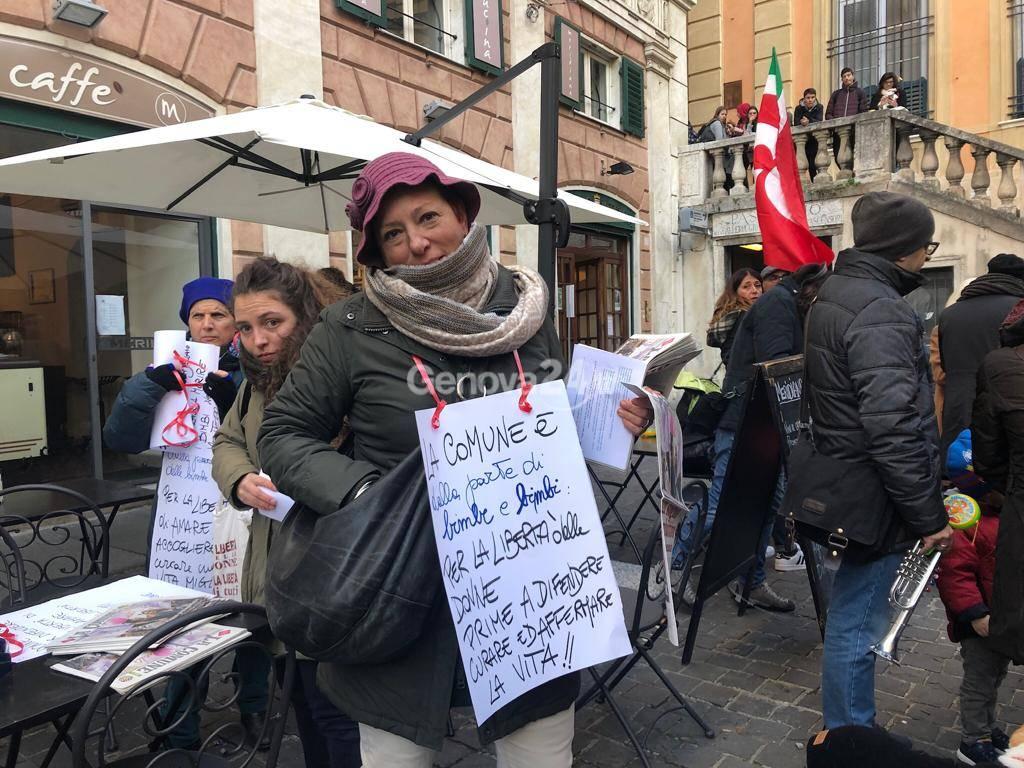 Manifestazione Liguria Pride primo dicembre