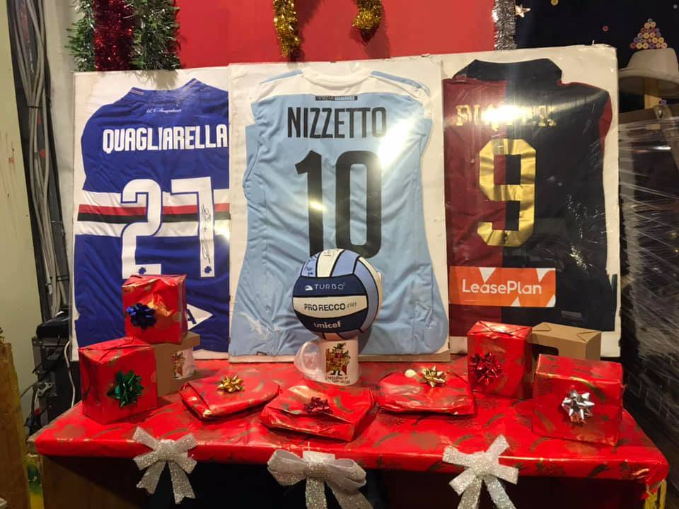 Maglie Sampdoria Genoa Mercatino di San Nicola