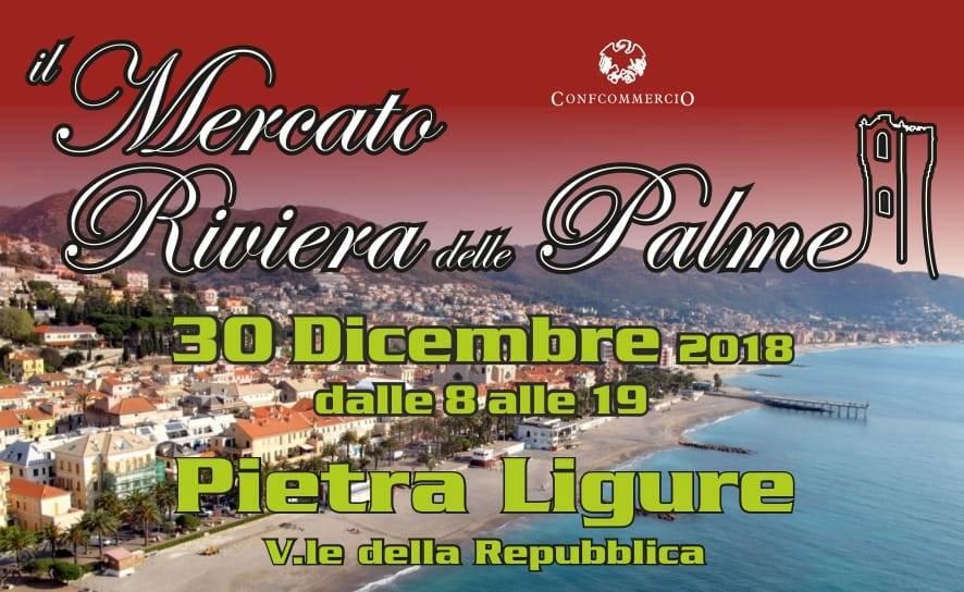 Mercato Riviera delle Palme Pietra Ligure dicembre 2018