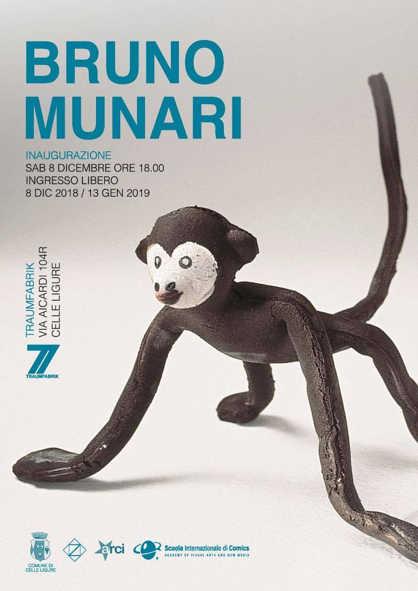 Mostra d'arte Bruno Munari TraumFabrik Celle Ligure