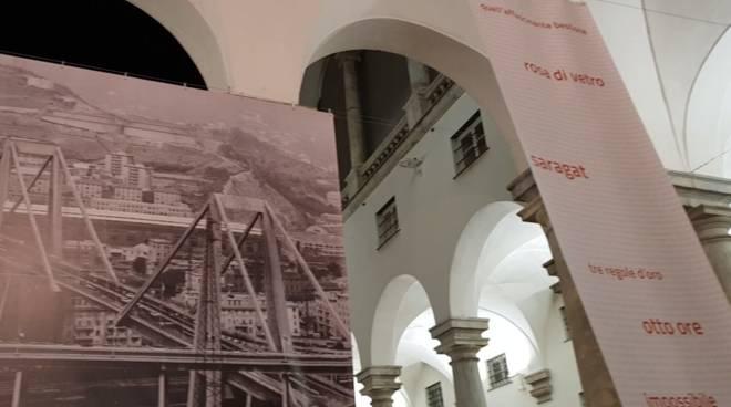 Mostra ponte Morandi ducale