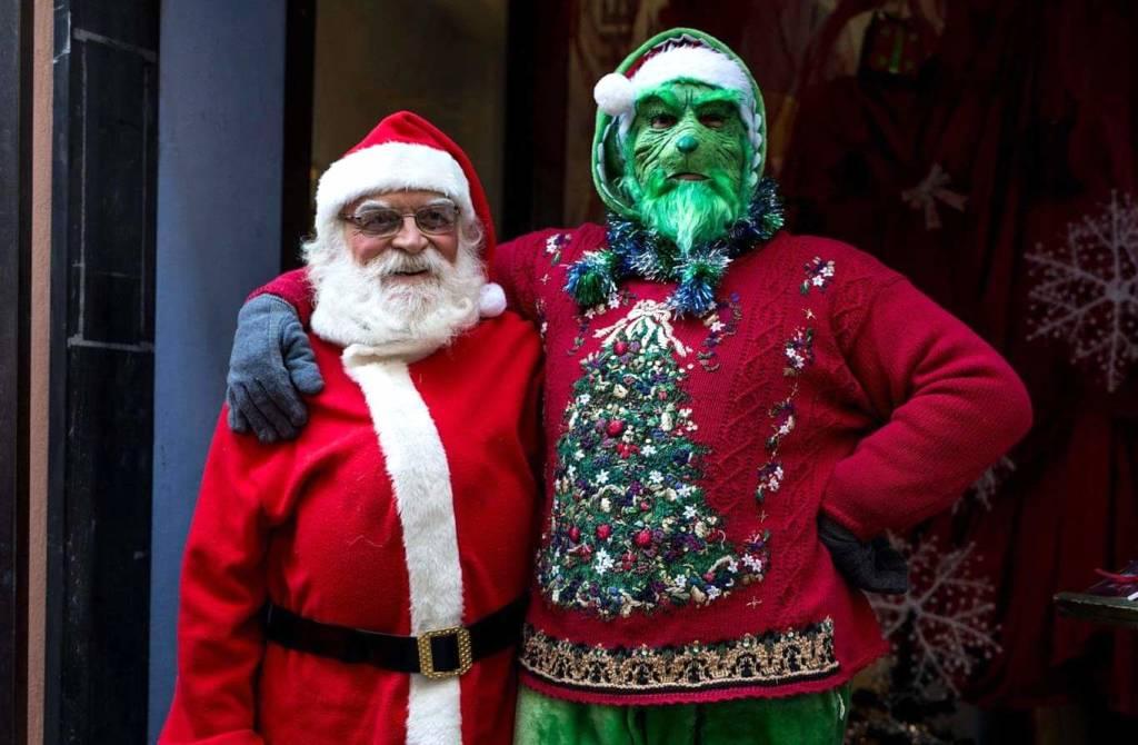 Babbo Natale e il Grinch
