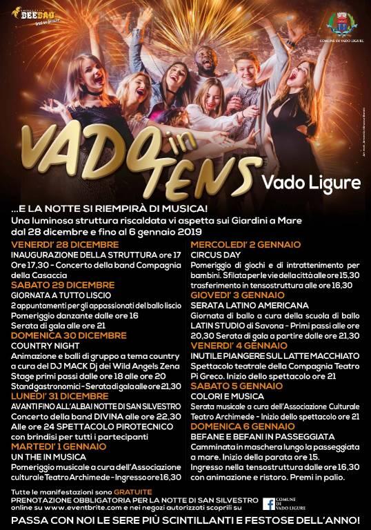Natale dicembre 2018 - gennaio 2019 Vado Ligure