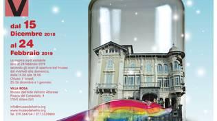 """Natale SottoVetro mostra """"Lo zoo di vetro"""" Altare"""