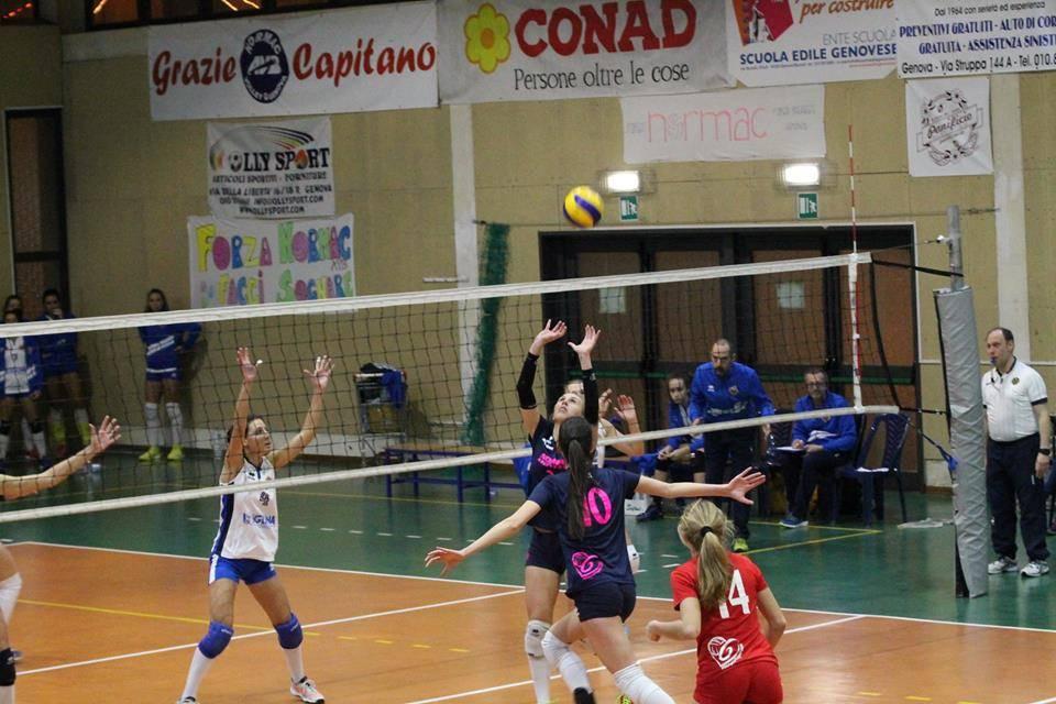 Normac Avb Genova vs Iglina Albisola