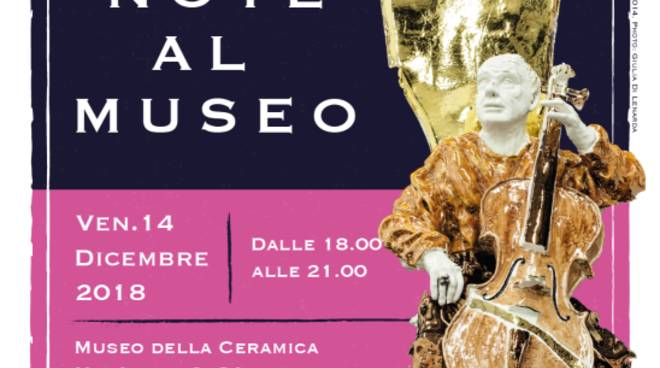"""""""Note al Museo"""" serata musicale Museo della Ceramica Savona"""