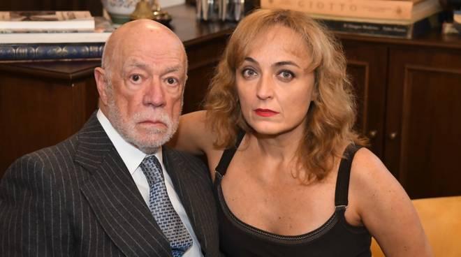 Piero Nuti e Miriam Mesturino attori