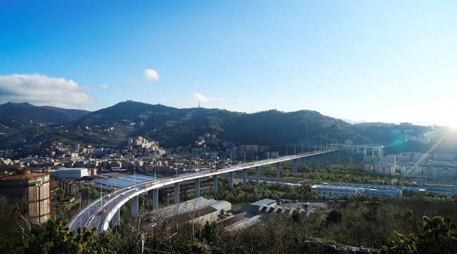 Ponte Genova Salini Fincantieri Foto ufficiali