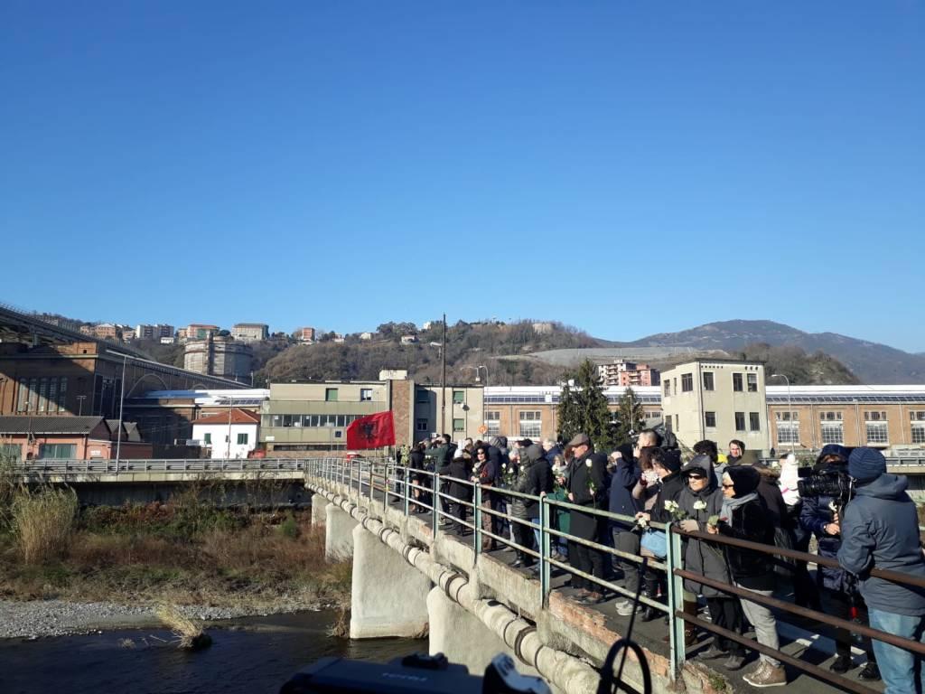ponte morandi commemorazione dicembre