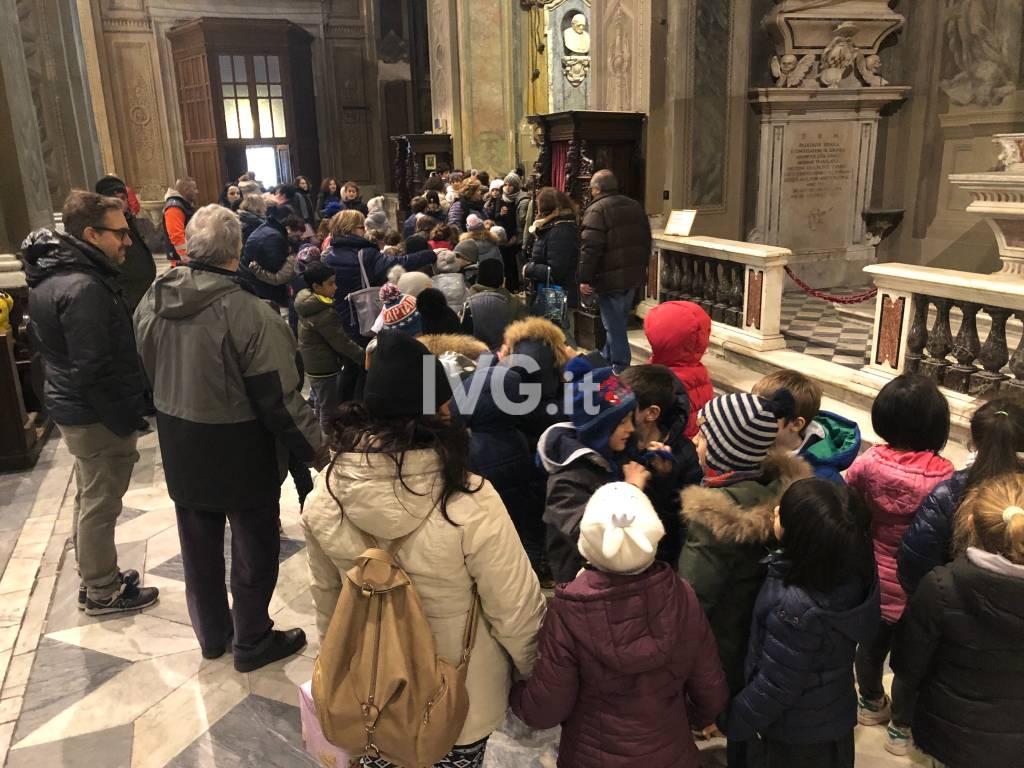 Presepe multietnico Duomo
