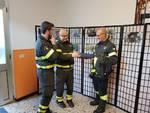Quiliano, i vigili del fuoco premiati dal Comitato del Borgo