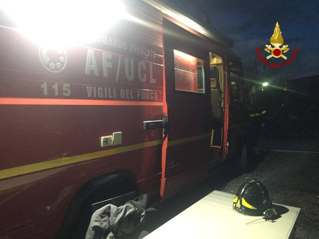 ricerca persona vigili del fuoco