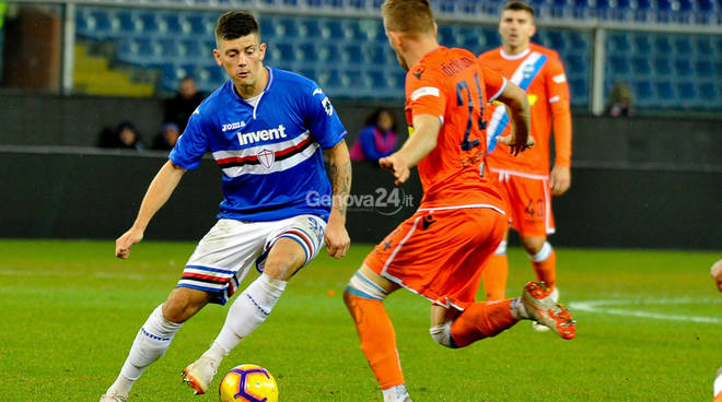 Sampdoria Vs Spal Coppa Italia quarto turno
