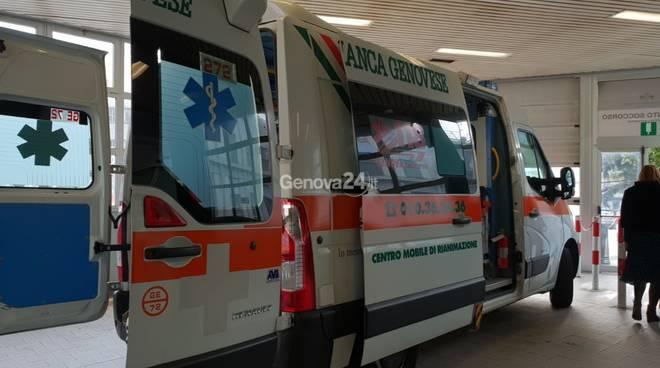 San Martino ospedale pronto soccorso codice rosso sanità policlinico
