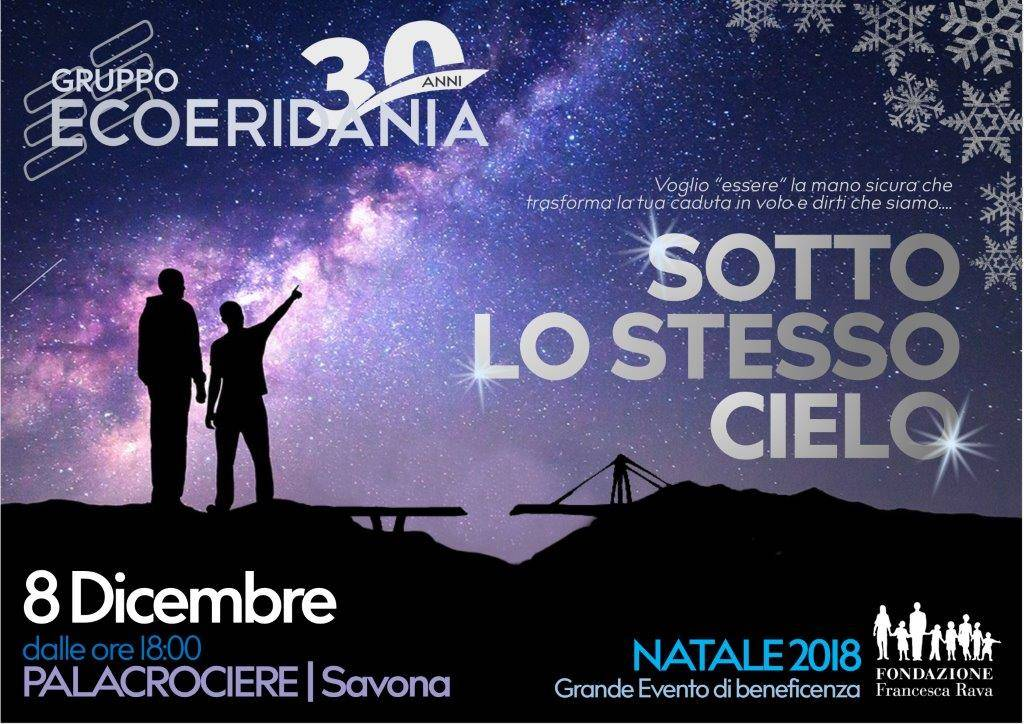 """Sotto lo stesso Cielo"" evento benefico vittime ponte Morandi Savona"