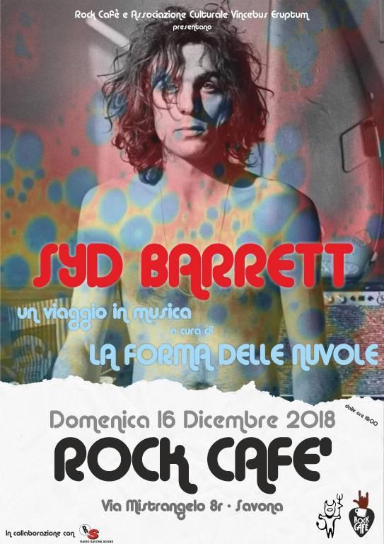 """""""Syd Barrett. Un viaggio in musica"""" concerto Savona"""
