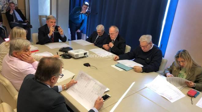 Team sindaco Bucci struttura commissariale