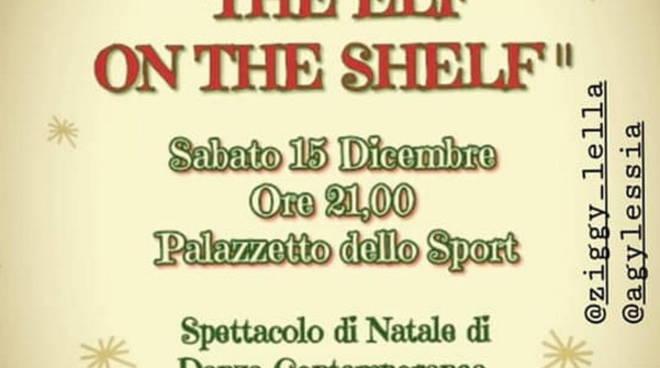 """The elf on the shelf"" spettacolo Dance School Flashart Varazze"
