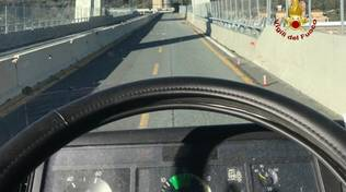 ultimo camion ponte morandi