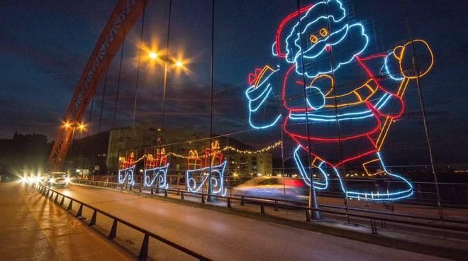 Babbo Natale Ponte Rosso Albenga