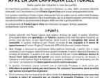 Manifesto Finale Ligure Viva
