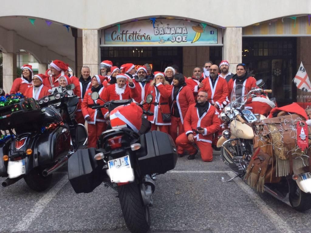Babbo Natale Moto Savona
