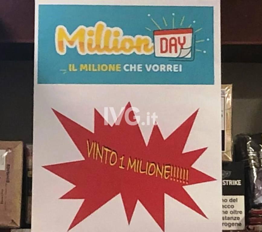 vincita 1 mln
