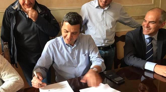 Alberto Passino firma Cai Albenga