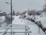 Allerta neve entroterra Genova 30 gennaio