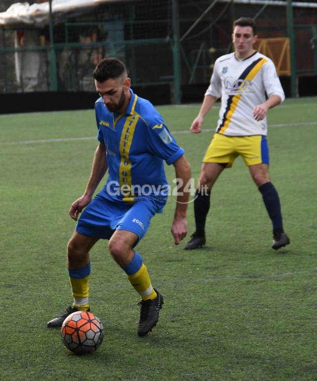 Carignano Vs Atletico Quarto Sec. Cat