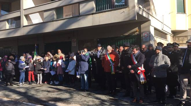 Commemorazione via Fracchia 24 gennaio 2019