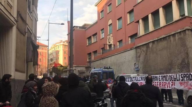 coordinamento antifascista vs casapound