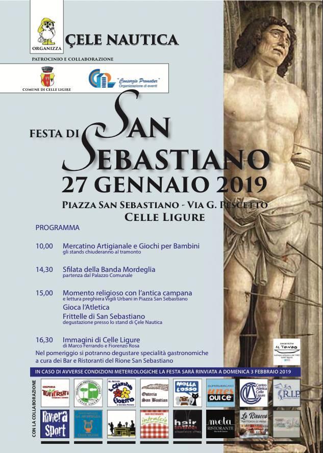 Festa San Sebastiano Celle Ligure 2019