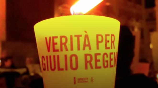 Fiaccolata Regeni Albenga