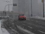 Genova sotto la neve