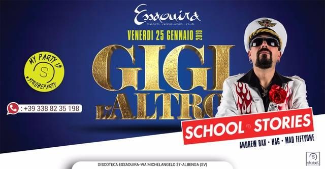 """""""Gigi L'altro Show"""" Essaouira Club Albenga"""
