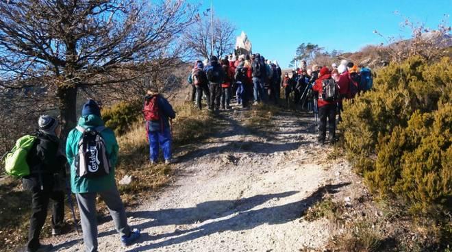 Gita CAI Club Alpino Italia Loano a Giustenice